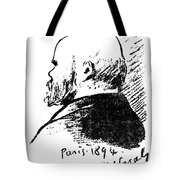 Paul Verlaine (1844-1896) Tote Bag