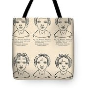 Physiognomy Tote Bag