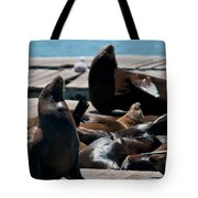 Pier 39 San Francisco Tote Bag