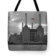Pink Floyd Pig At Battersea Tote Bag