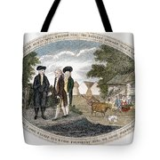 Poor Richard Illustrated Tote Bag