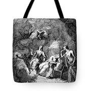Pope: Rape Of The Lock Tote Bag