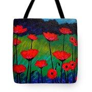 Poppy Corner Tote Bag