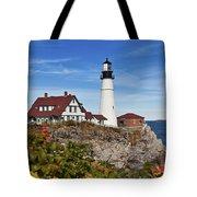Portland Head Lighthouse Tote Bag
