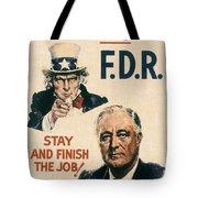 Presidential Campaign, 1940 Tote Bag