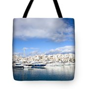 Puerto Banus In Spain Tote Bag
