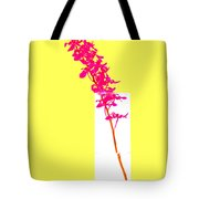Purple Orchid Bunch Tote Bag