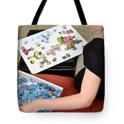 Puzzle Therapy Tote Bag