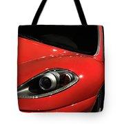 Red Ferrari F430 Scuderia Tote Bag
