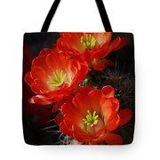 Red Hedgehog  Tote Bag