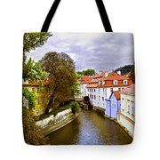 Red Roofs Of Prague Tote Bag