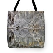 Reflection On Blue Lake, St Bathans Tote Bag
