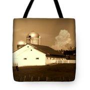 Cattle Farm Mornings Tote Bag