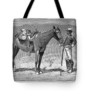 Remington: 10th Cavalry Tote Bag by Granger