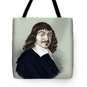Rene Descartes, French Polymath Tote Bag
