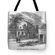 Robert Fulton (1765-1815) Tote Bag