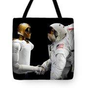 Robonaut 2, A Dexterous, Humanoid Tote Bag by Stocktrek Images