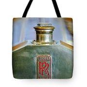 Rolls-royce Hood Ornament Tote Bag