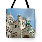 Sacre Coeur Basilica Paris France Tote Bag