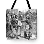 Salem Witch Trial, 1692 Tote Bag