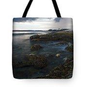 Sea At Sunset Tote Bag