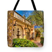 Sedona Tlaquepaque Shopping Center Tote Bag