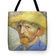 Self Portrait Tote Bag by Vincent van Gogh