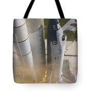 Shuttle Lift-off Tote Bag