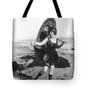 Silent Still: Bather Tote Bag
