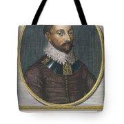 Sir Francis Drake, English Explorer Tote Bag