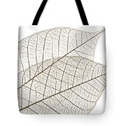Skeleton Leaves Tote Bag by Elena Elisseeva