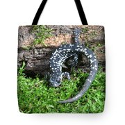 Slimy Salamander Tote Bag