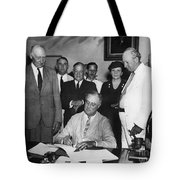 Social Security Act, 1935 Tote Bag