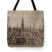 Southwark Bridge Artwork Tote Bag