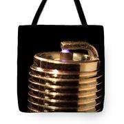 Spark Plug Firing Tote Bag