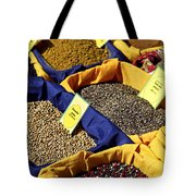 Spices On The Market Tote Bag by Elena Elisseeva