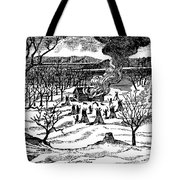 Spirit Lake Massacre, 1857 Tote Bag
