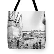 Statue Of Liberty, C1884 Tote Bag by Granger