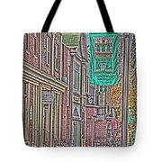 Streets Of Bel Air Tote Bag