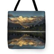 Sunset Reflection Of Lake Matheson Tote Bag