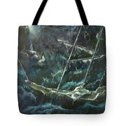 Surviving The Storm Tote Bag