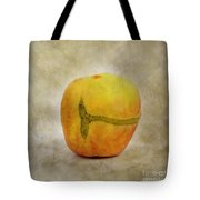 Textured Apple Tote Bag