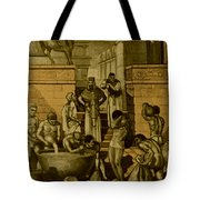 The Art Of Brewing, Babylon Tote Bag by Science Source