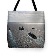 The Enterprise Carrier Strike Group Tote Bag