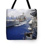 The Military Sealift Command Fleet Tote Bag
