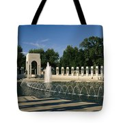 The Pacific Pavilion And Pillars Tote Bag