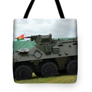 The Pandur 6x6 Family Of Wheeled Tote Bag by Luc De Jaeger