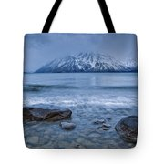 The Shoreline Of Kathleen Lake In Late Tote Bag