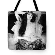 Theda Bara (1885-1955) Tote Bag