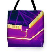 Thermogram Of Steam Pipes Tote Bag